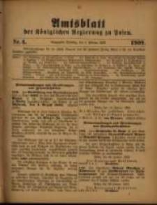 Amtsblatt der Königlichen Regierung zu Posen. 1909.02.09 Nro.6