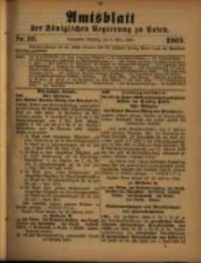 Amtsblatt der Königlichen Regierung zu Posen. 1909.03.09 Nro.10