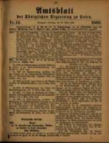 Amtsblatt der Königlichen Regierung zu Posen. 1909.03.30 Nro.13