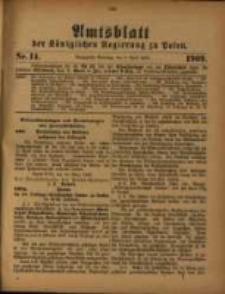 Amtsblatt der Königlichen Regierung zu Posen. 1909.04.06 Nro.14