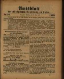 Amtsblatt der Königlichen Regierung zu Posen. 1909.05.18 Nro.20