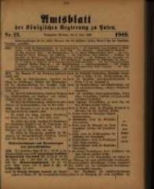 Amtsblatt der Königlichen Regierung zu Posen. 1909.06.08 Nro.23