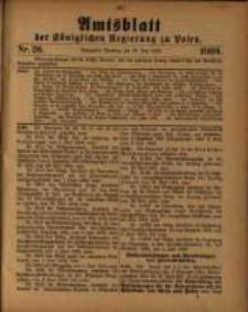 Amtsblatt der Königlichen Regierung zu Posen. 1909.06.29 Nro.26