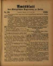 Amtsblatt der Königlichen Regierung zu Posen. 1909.07.27 Nro.30