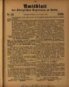 Amtsblatt der Königlichen Regierung zu Posen. 1909.08.10 Nro.32
