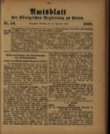Amtsblatt der Königlichen Regierung zu Posen. 1909.12.14 Nro.50