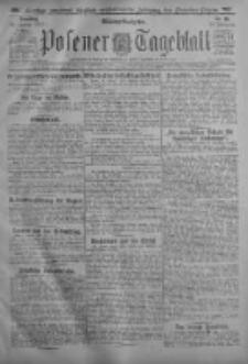 Posener Tageblatt 1917.01.16 Jg.56 Nr25