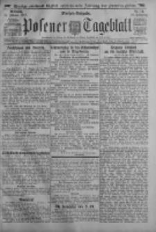 Posener Tageblatt 1917.02.14 Jg.56 Nr74