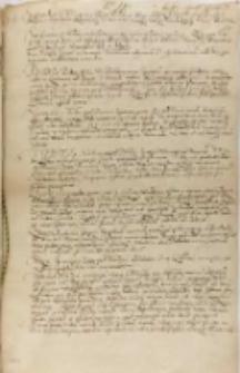 Kopia współczesna listu przypowiendego na 200 jazdy niemieckiej do Inflant, Warszawa 15.04.1600