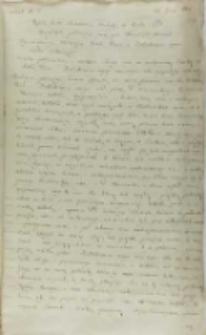 Kopia listu Jeremiego Mohyły do króla Zygmunta III, Jassy 30.06.1601