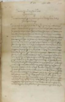 List Jana Firleia podskarbiego koronnego do króla Zygmunta III, Lublin 01.07.1601