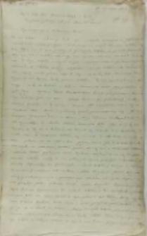 Kopia listu Bernarda Maciejowskiego biskupa krakowskiego do króla Zygmunta III, Kraków 28.01.1602