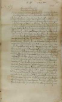 List Jan Firleja do króla Zygmunta III, Lublin 08.03.1602