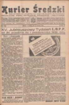 Kurier Średzki: niezależne pismo katolickie, społeczne i polityczne 1938.09.27 R.7 Nr111