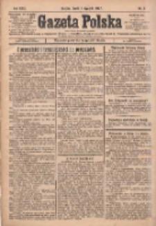 Gazeta Polska: codzienne pismo polsko-katolickie dla wszystkich stanów 1927.01.05 R.31 Nr3