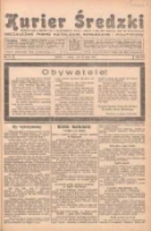 Kurier Średzki: niezależne pismo katolickie, społeczne i polityczne 1939.05.13 R.8 Nr54
