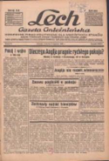 """Lech.Gazeta Gnieźnieńska: codzienne pismo polityczne dla wszystkich stanów. Dodatki: tygodniowy """"Lechita"""" i powieściowy oraz dwutygodnik """"Leszek"""" 1936.01.09 R.36 Nr6"""