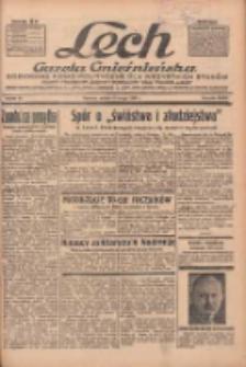 """Lech.Gazeta Gnieźnieńska: codzienne pismo polityczne dla wszystkich stanów. Dodatki: tygodniowy """"Lechita"""" i powieściowy oraz dwutygodnik """"Leszek"""" 1936.02.08 R.36 Nr32"""