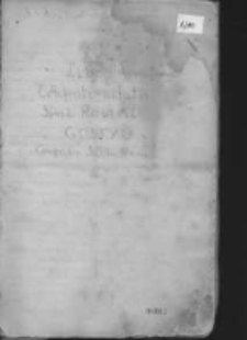 Liber Proventumm Confraternitatis Simi Rosarii Gostyń Congr. Or. S. Ph. Nerii