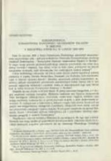 Korespondencja Towarzystwa Naukowego Akademików Polaków w Berlinie z Biblioteką Kórnicką w latach 1869-1894. Pamiętnik Biblioteki Kórnickiej Z. 23.