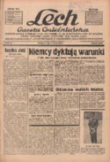 """Lech.Gazeta Gnieźnieńska: codzienne pismo polityczne dla wszystkich stanów. Dodatki: tygodniowy """"Lechita"""" i powieściowy oraz dwutygodnik """"Leszek"""" 1936.03.18 R.36 Nr65"""