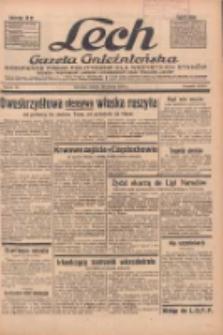 """Lech.Gazeta Gnieźnieńska: codzienne pismo polityczne dla wszystkich stanów. Dodatki: tygodniowy """"Lechita"""" i powieściowy oraz dwutygodnik """"Leszek"""" 1936.03.28 R.36 Nr74"""