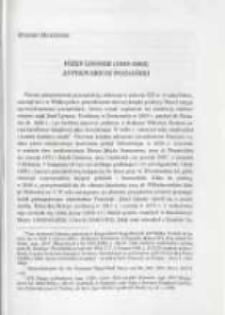 Józef Lissner (1805-1862) antykwariusz poznański. Pamiętnik Biblioteki Kórnickiej Z. 26.