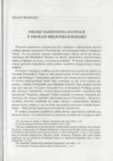 Pieczęć majestatowa Augusta II w zbiorach Biblioteki Kórnickiej. Pamiętnik Biblioteki Kórnickiej Z. 26.
