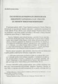 Zagadnienia konserwacji i restauracji rękopisów Napoleona z lat 1793-1795 ze zbiorów Biblioteki Kórnickiej. Pamiętnik Biblioteki Kórnickiej Z. 26.