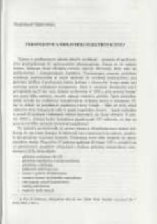 Perspektywa biblioteki elektronicznej. Pamiętnik Biblioteki Kórnickiej Z. 26.