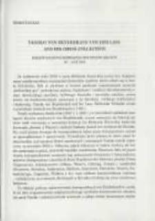 Tassilo von Heydebrand und der Lasa and his chass collection. Międzynarodowe seminarium historyków szachów 16-18 IX 2002. Pamiętnik Biblioteki Kórnickiej Z. 26.