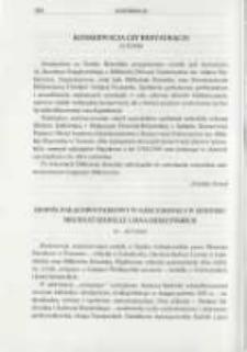 Konfereencje. Pamiętnik Biblioteki Kórnickiej Z. 26.