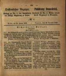 Oeffentlicher Anzeiger. 1853.01.25 Nro.4