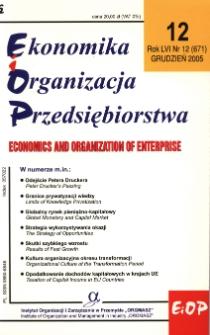 Strategie firm polskich wobec inwestorów zagranicznych