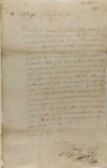 Proconsules Consulesque Regiae Ciuitatis Rigensis Joanni Carolo Chodkieuicio, Ryga 20.05.1619