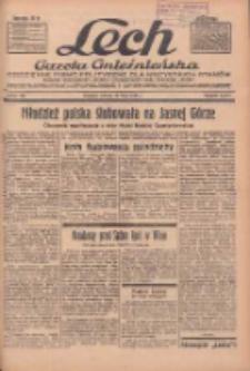 """Lech.Gazeta Gnieźnieńska: codzienne pismo polityczne dla wszystkich stanów. Dodatki: tygodniowy """"Lechita"""" i powieściowy oraz dwutygodnik """"Leszek"""" 1936.05.26 R.36 Nr122"""