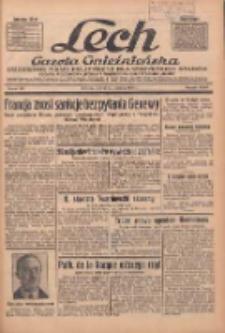 """Lech.Gazeta Gnieźnieńska: codzienne pismo polityczne dla wszystkich stanów. Dodatki: tygodniowy """"Lechita"""" i powieściowy oraz dwutygodnik """"Leszek"""" 1936.06.23 R.36 Nr144"""