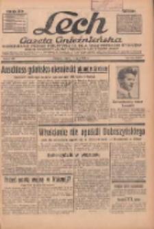 """Lech.Gazeta Gnieźnieńska: codzienne pismo polityczne dla wszystkich stanów. Dodatki: tygodniowy """"Lechita"""" i powieściowy oraz dwutygodnik """"Leszek"""" 1936.07.11 R.36 Nr159"""