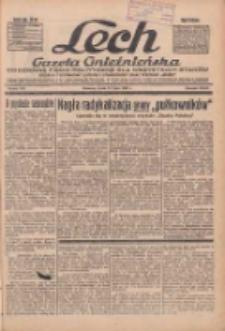 """Lech.Gazeta Gnieźnieńska: codzienne pismo polityczne dla wszystkich stanów. Dodatki: tygodniowy """"Lechita"""" i powieściowy oraz dwutygodnik """"Leszek"""" 1936.07.15 R.36 Nr162"""