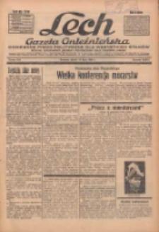 """Lech.Gazeta Gnieźnieńska: codzienne pismo polityczne dla wszystkich stanów. Dodatki: tygodniowy """"Lechita"""" i powieściowy oraz dwutygodnik """"Leszek"""" 1936.07.17 R.36 Nr164"""