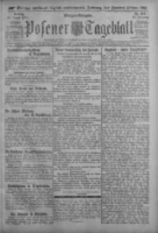 Posener Tageblatt 1917.08.31 Jg.56 Nr406