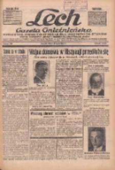 """Lech.Gazeta Gnieźnieńska: codzienne pismo polityczne dla wszystkich stanów. Dodatki: tygodniowy """"Lechita"""" i powieściowy oraz dwutygodnik """"Leszek"""" 1936.07.29 R.36 Nr174"""
