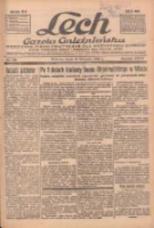 """Lech.Gazeta Gnieźnieńska: codzienne pismo polityczne dla wszystkich stanów. Dodatki: tygodniowy """"Lechita"""" i powieściowy oraz dwutygodnik """"Leszek"""" 1936.11.25 R.36 Nr275"""