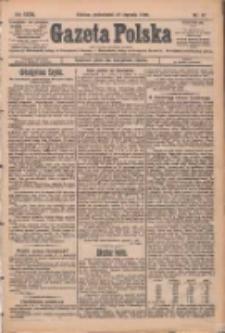 Gazeta Polska: codzienne pismo polsko-katolickie dla wszystkich stanów 1929.01.21 R.33 Nr17