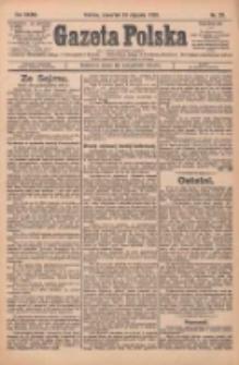 Gazeta Polska: codzienne pismo polsko-katolickie dla wszystkich stanów 1929.01.24 R.33 Nr20