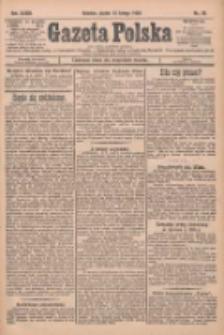 Gazeta Polska: codzienne pismo polsko-katolickie dla wszystkich stanów 1929.02.15 R.33 Nr38