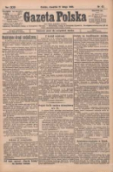 Gazeta Polska: codzienne pismo polsko-katolickie dla wszystkich stanów 1929.02.21 R.33 Nr43