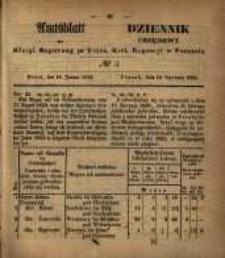 Amtsblatt der Königlichen Regierung zu Posen. 1853.01.18 Nro.3