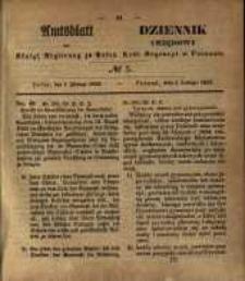 Amtsblatt der Königlichen Regierung zu Posen. 1853.02.01 Nro.5