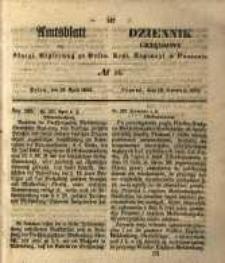 Amtsblatt der Königlichen Regierung zu Posen. 1853.04.19 Nro.16